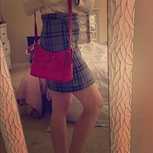 Like New Red Kate Spade Crossbody Bag with Tassel